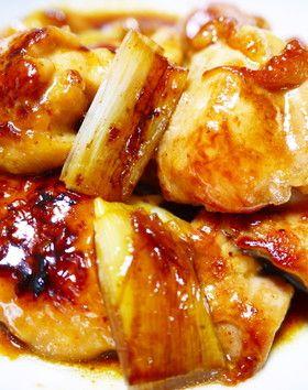 ★ズボラな焼き鳥★串なし!鶏もも肉と白葱 by ほっこり~の 【クックパッド】 簡単おいしいみんなのレシピが274万品