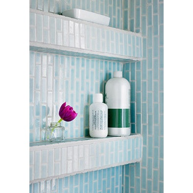 Built Out Shelf In Shower