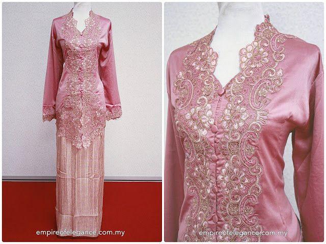 KEBAYA LIVIANA: Pink | Kebaya Empire