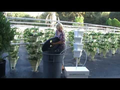 Constructing Your Hydroponic Growing Tower  HydroHarvest Farm