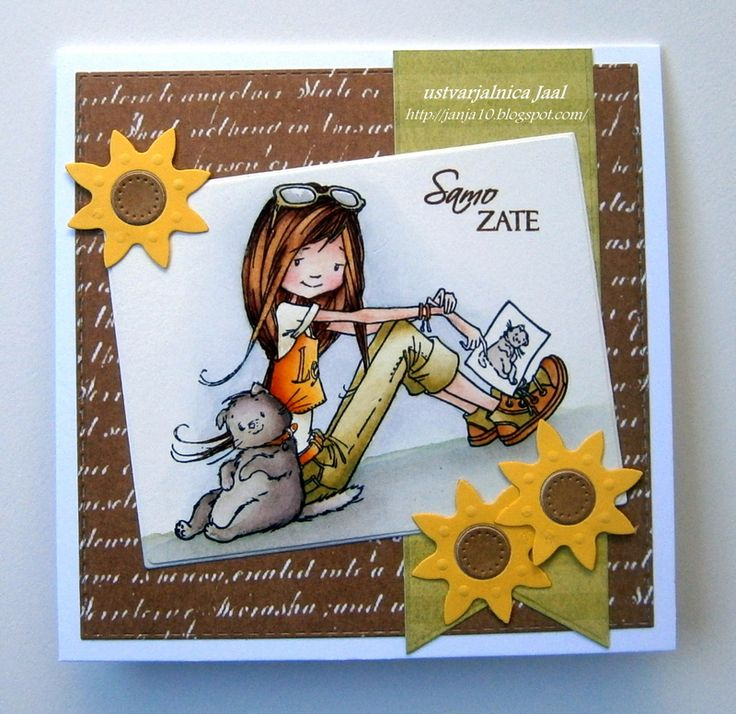 ScrapBerry stamps - our summer