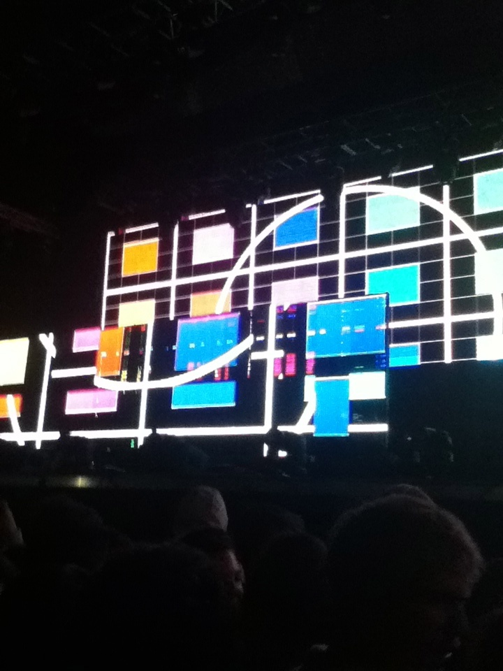 Main Stage en Creamfields 2012