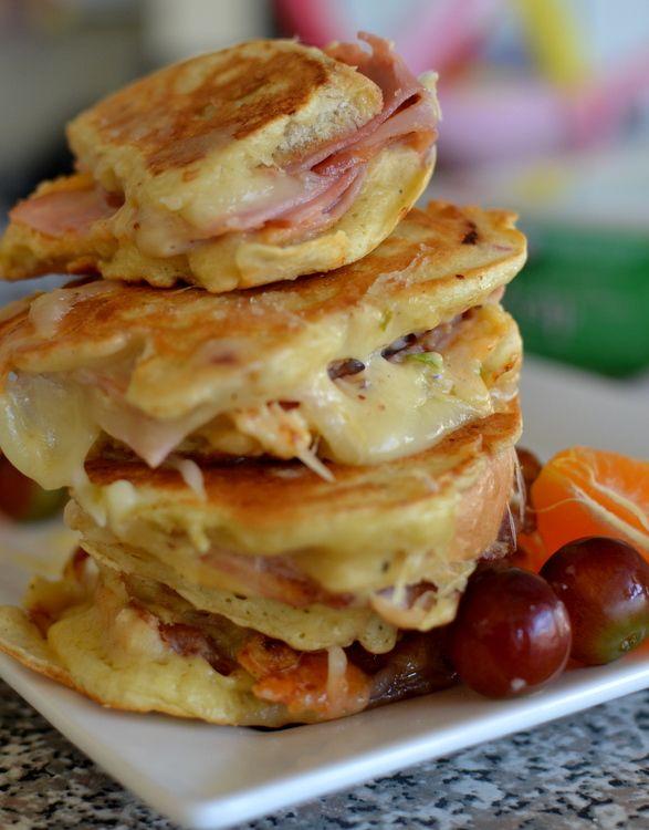 Ham, Bacon & Pepperjack Monte Cristo