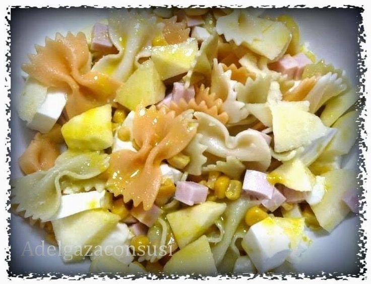 Adelgaza Con Susi - Recetas Light: Ensalada de pasta con pavo y manzana.