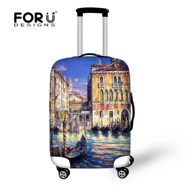 Italy Luggage Cover Venice - FREE SHIPPING!