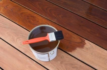 Maintaining a mahogany hardwood deck is important if you want to keep the deck looking fresh while also maximizing the lifespan of the wood. A key part of any deck's maintenance is the application of some finishing product to revitalize the timbers and protect their outer layers. | greenworldlumber.com