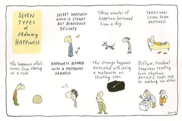 SEVEN TYPES of ORdinary HAPPINESS