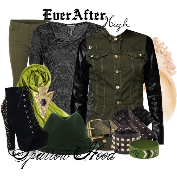 """""""Ever After High : Sparrow Hood"""" by missm26 on Polyvore"""