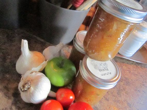 #Autumn #Pickles by @sweetpeaspantry on Etsy, $5.00