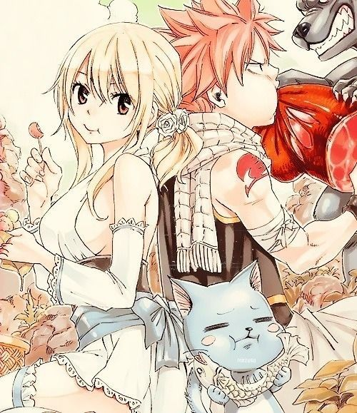 Image de fairy tail, anime, and nalu