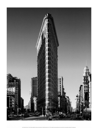 new york: Building Nyc, Favorite Places, White Photography, New York Cities, Black And White, Art Prints, Flatiron Building, Irons Building, Flats Irons