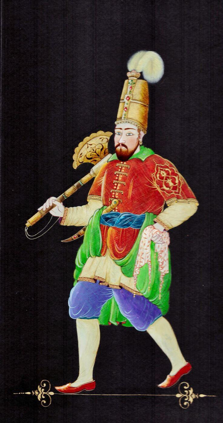 Serap Derinkök Minyatürü 2016 ottoman figures👍