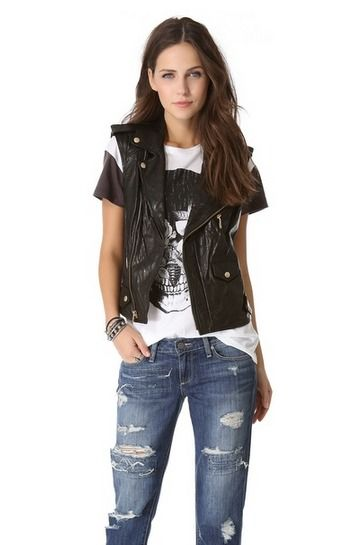 Rebecca Minkoff Leather Vest