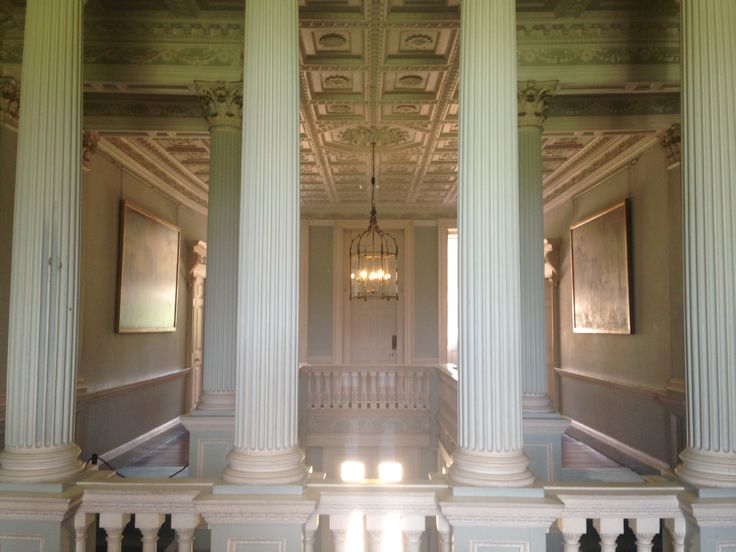 National Trust Property - The Vyne.  Beautiful Neo-Classical Decor.