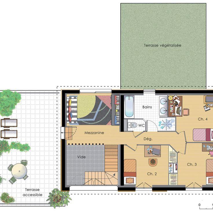 23 best plan étage images on Pinterest Blueprints for homes, Floor