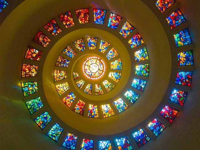 Thanks-Giving Chapel, Glory Window in Dallas. #thanksgiving http://blog.tourtexas.com/2014/11/25/thanks-giving-square-an-oasis-of-serenity-and-gratitude-in-the-heart-of-dallas/