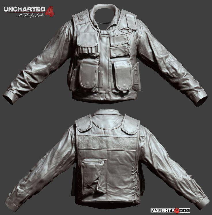 ArtStation - Uncharted 4, Corey Johnson