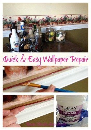 Renovation Blooper: Wallpaper Border Repair (With images ...