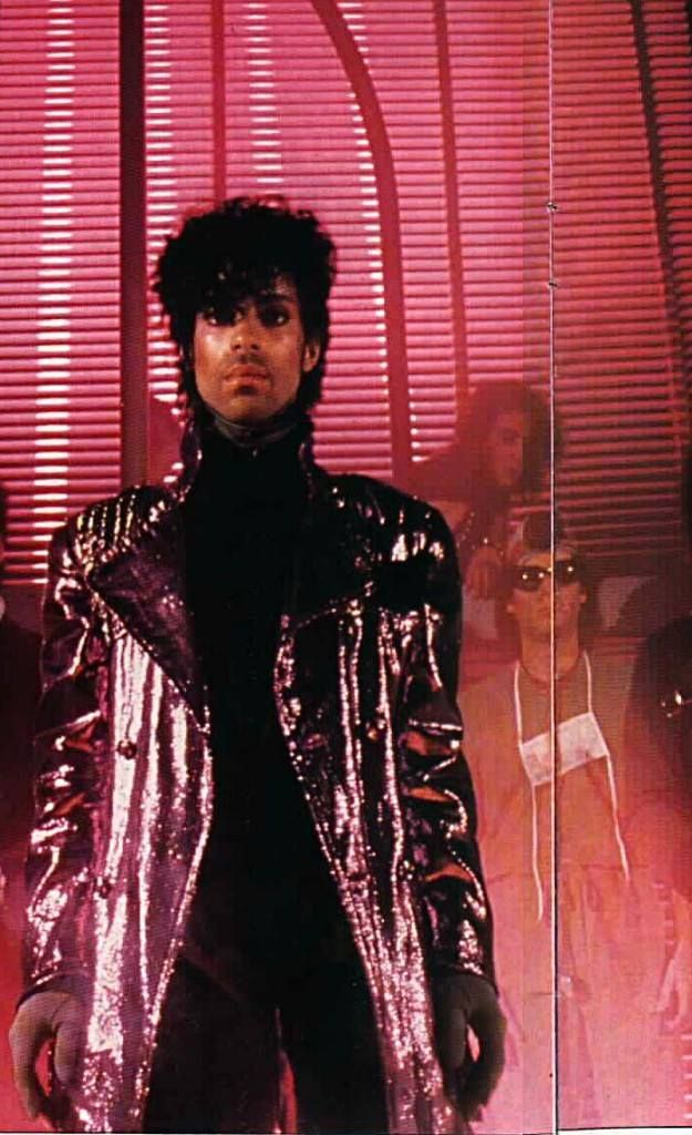 Prince - Rare pic for the 1999 album notice Dr. Fink and Lisa Coleman in the background 1982.