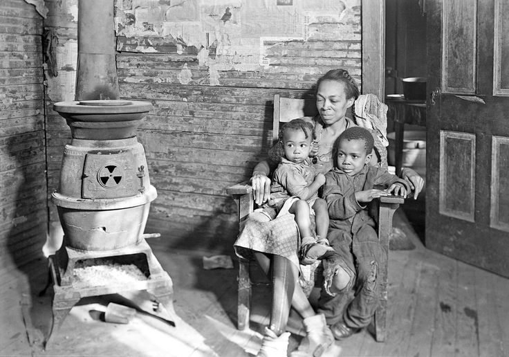 Scott's Run, West Virginia. Johnson family - father unemployed, March 1937.  Photo by Lewis Hine.