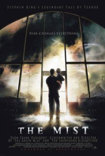 The Mist (2007), Dimension Films, Darkwoods Productions, and Weinstein Co. with Thomas Jane, Marcia Gay Harden, Laurie Holden, Andre Braugher, and Toby Jones. This was based on one of my favorite Stephen King short stories. Though the end is very different, this is the best adaptation I've seen. Bought it.