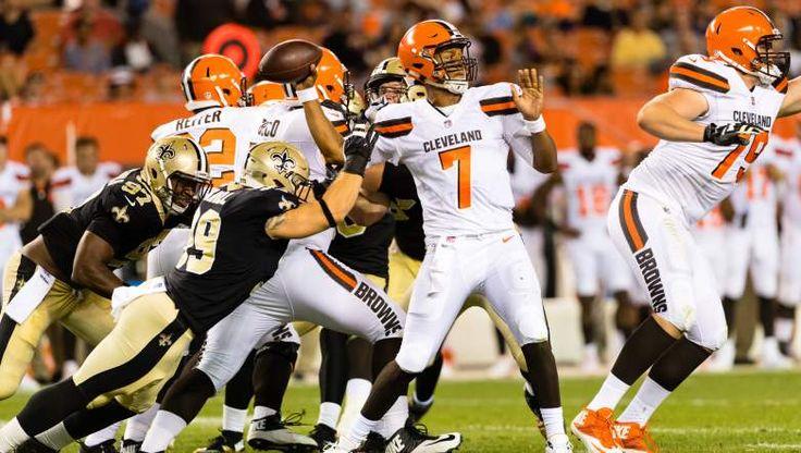 Browns Wallpaper DeShone Kizer | Browns QB Battle: Who Will Start Week One?
