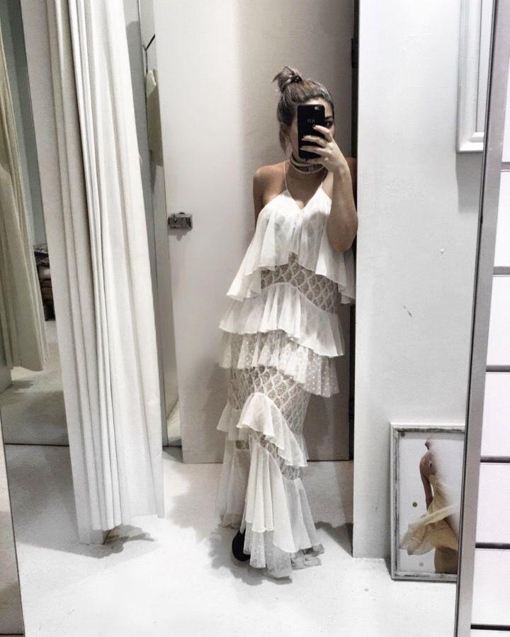 BOW & ARROW MAXI // IXIAH       //         This can also make a beautiful alternative wedding dress!   #IXIAH #OOTD #DressIdeas #Boho #Wedding