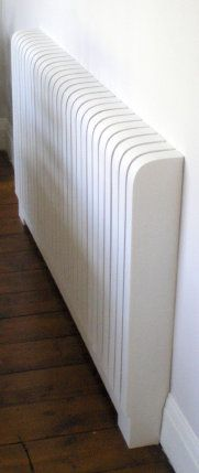 Curved Radiator Cover