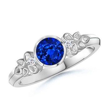 "$1,859 Aztec Ring (""Best"" Quality, top 10% of sapphires)"