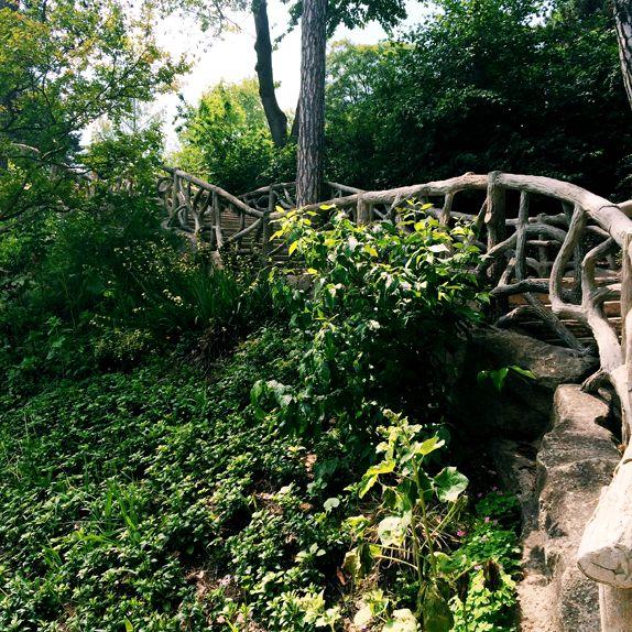 Bridge in Parc Montsouris - Paris, France