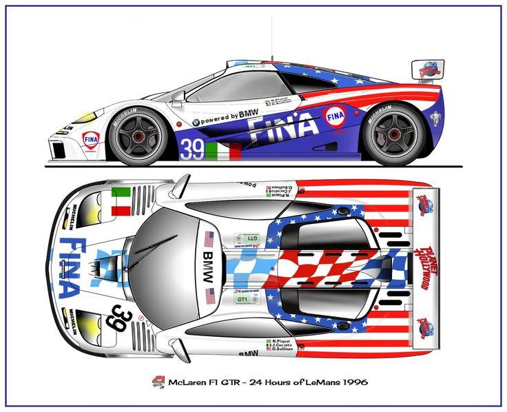 McLaren GTR Le Mans 1996