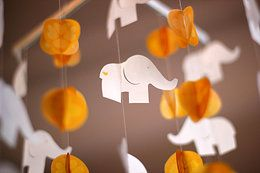 Eliphants in white & yellow - unisex (available in any colour combination you choose)