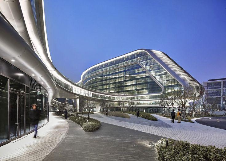 Sky SOHO, Shanghai, China © Zaha Hadid Architects