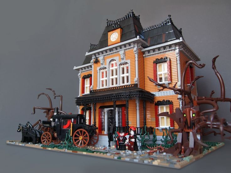 Welcome My Homepage Lego Haunted House Lego House Lego