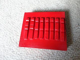 rasp maken voor in de muziekkoffer