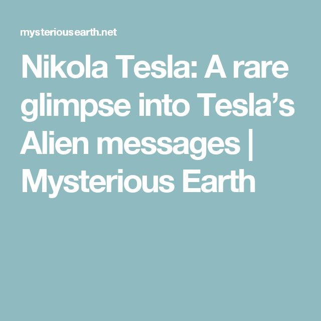 if nikola tesla s inventions were used Welcome to nikola tesla's autobiography my inventions tesla was 63 years old  when this text was first published in the electrical experimenter magazine in.