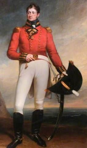 Lieutenant Colonel William E. Wyatt who commanded 2 / 23rd Foot at Corunna and the Walcheren Expedition.