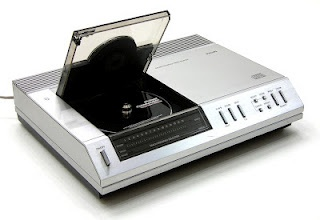 One of the first CD players - Phillips CD100