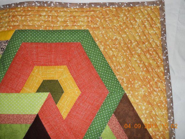... detail quiltování  - na obou polštářích je stejné