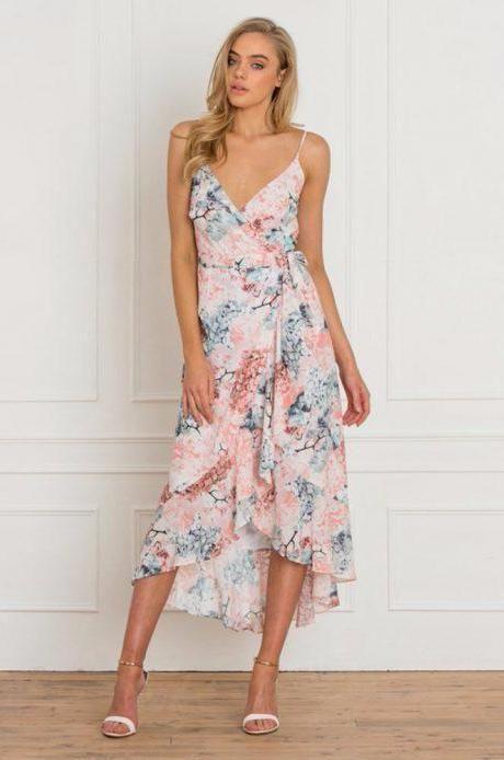 Fresh Soul - Monet Dress - Hydrangea Print