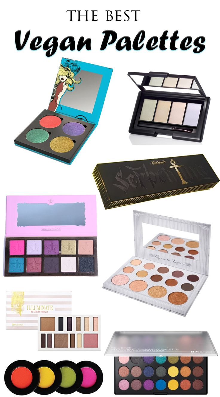 top 9 picks for the best vegan makeup palettes that you can currently find online