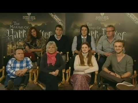 pinning this so i can watch it later when i'm NOT studying for midterms...(gahh i hate school) Watch the Warner Bros. Studio Tour London - The Making of Harry Potter - cast web chat on-demand here. Tom Felton, Julie Walters, Bonnie Wright, Nat Tena, Oliver Phelps, James Phelps, Mark Williams, and Warwick Davis answer your questions from #wbstudiotour. Tickets are on sale now for the Studio Tour, opening 31st March 2012.