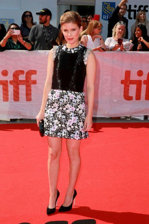 Kate Mara in Giambattista Valli Couture at the Toronto Film Festival premiere for Chappaquiddick on September 10, 2017.