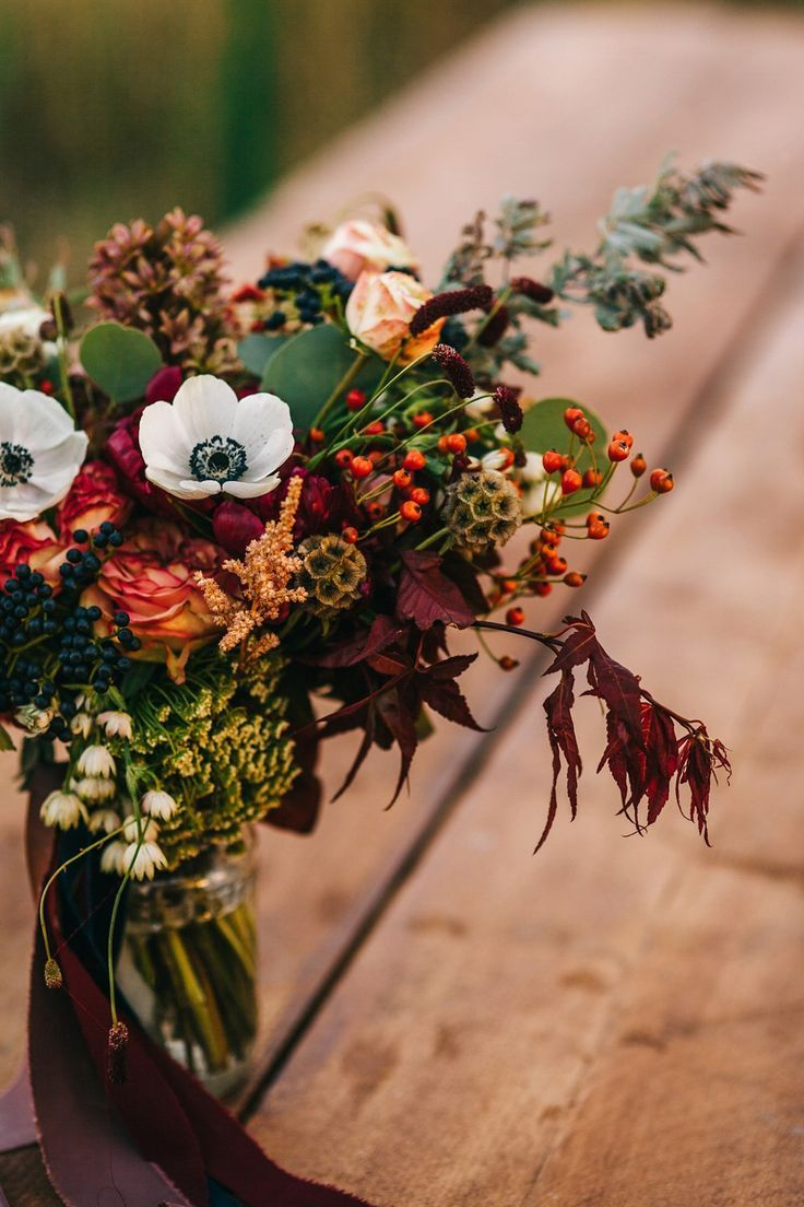 A Natural, Rustic and Floral Autumn Wedding in the Romanian countryside  – Deko Favoriten