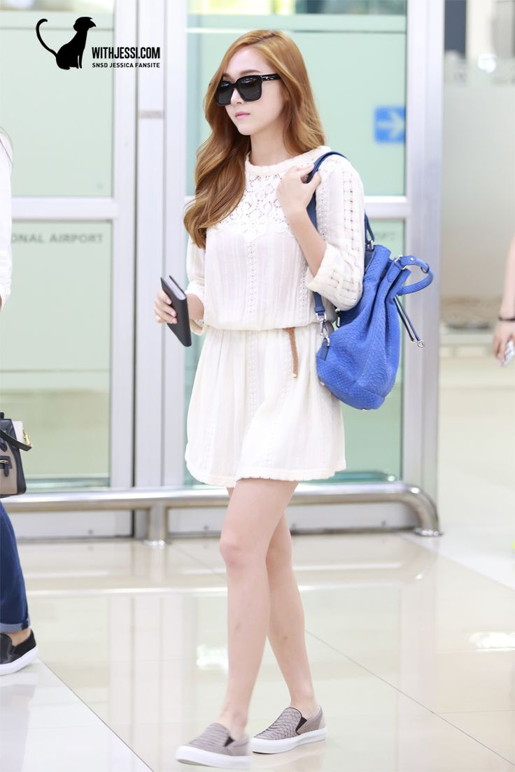140630 Jessica 39 S Airport Fashion Kpop Fashion Pinterest Jessica Jung Mode Flygplats Och Snsd