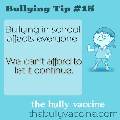 bullying and how it affects the The effects of bullying on the victim are better known we tend to give less  thought to how the bully might be affected by their own behavior.