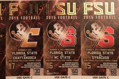 fsu football tickets 2015 - Google Search