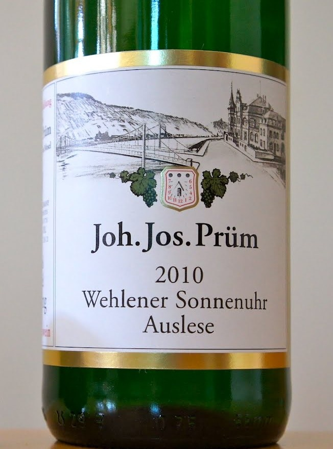 For drinking, anything JJ Prüm is amazing, especially this Wehlener Sonnenuhr Auslese. $45 ( - I agree with this pinner!! )