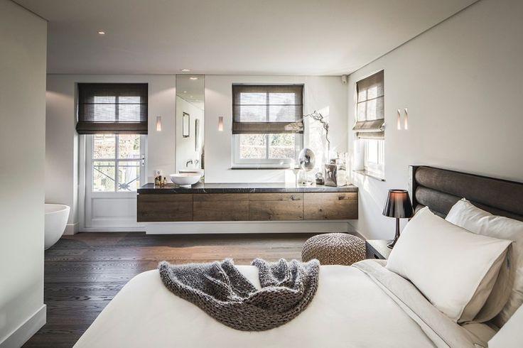25 beste idee n over badkamer gordijnen op pinterest for Verduisterende witte gordijnen