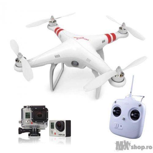 Drona DJI Phantom + GoPro Hero3 Silver - MXShop - GoPro - TU esti EROUL